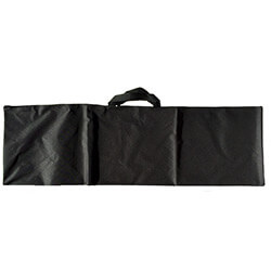 Large Detector Carry Bag: Durable Lightweight Black Cordura + Carry Handles img